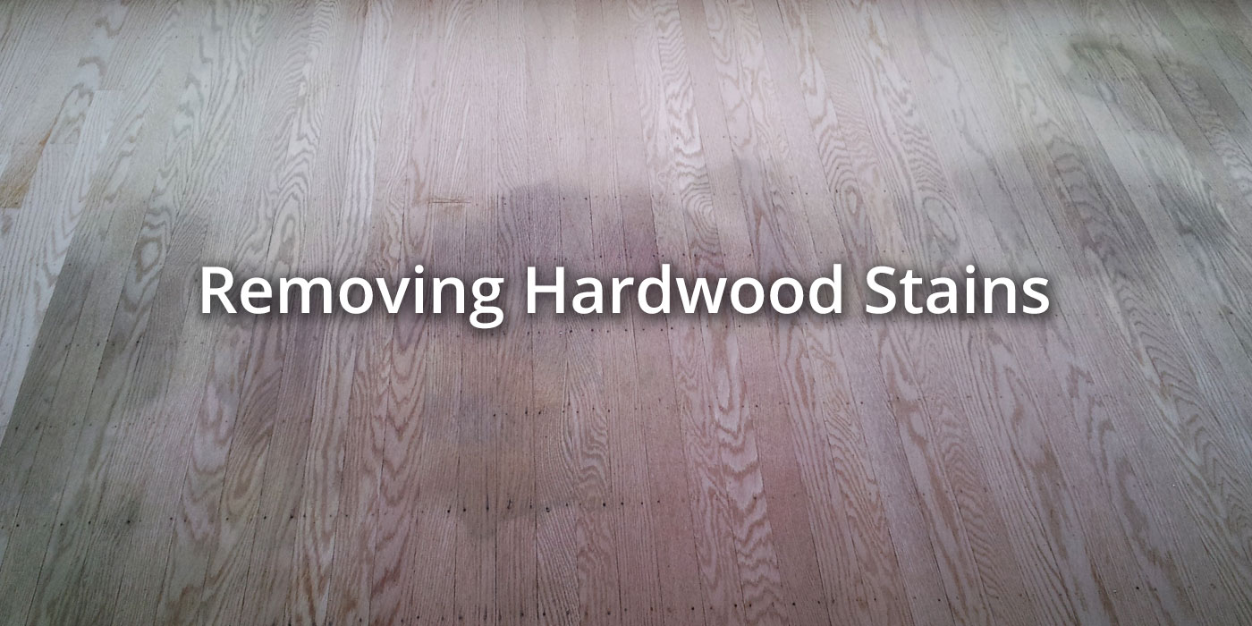 Remove Hardwood Stains