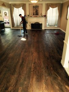 Cleaning Hardwoods for Refinishing
