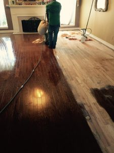 Sanding Hardwoods for Refinishing