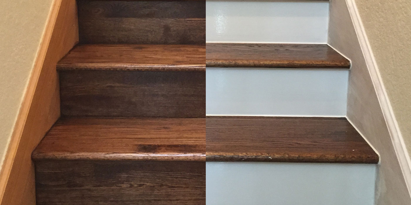 Painting Your Hardwood Stair Risers