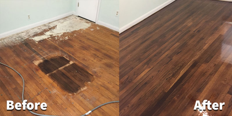 First class hardwood floor refinishing in fort worth for Sanding hardwood floors