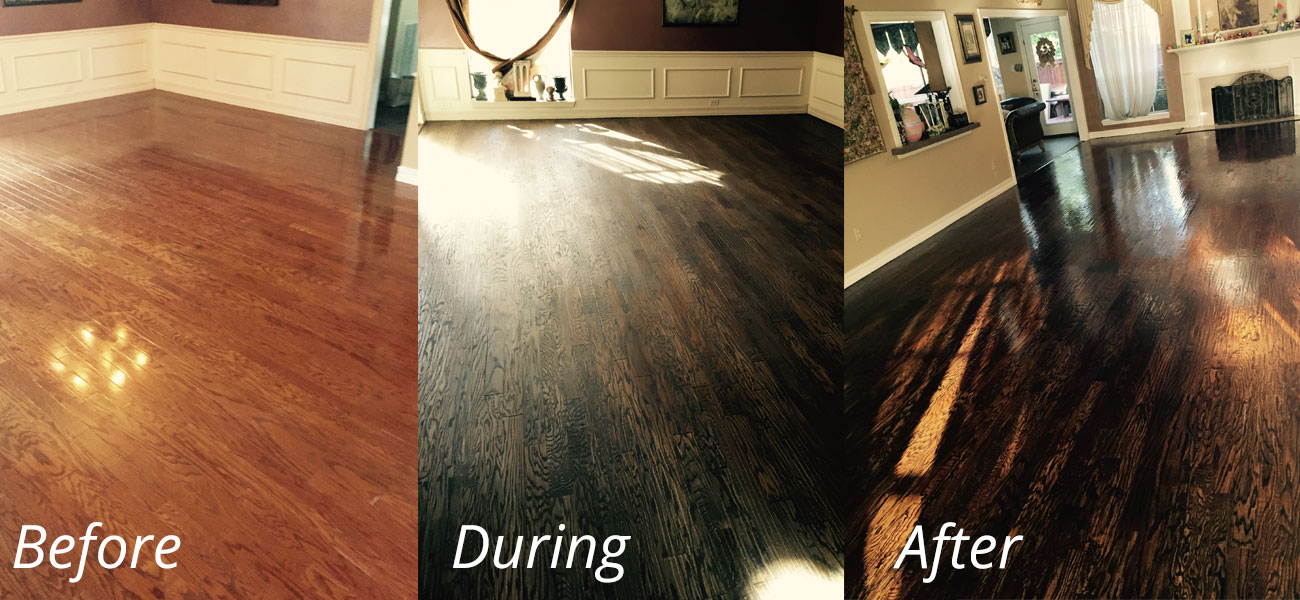 How long does it take to refinish a hardwood floor home for Hardwood floors long branch nj