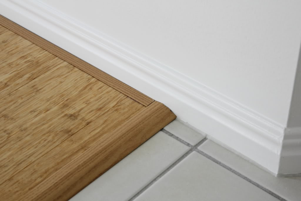 your hardwood floors with the trim moldings
