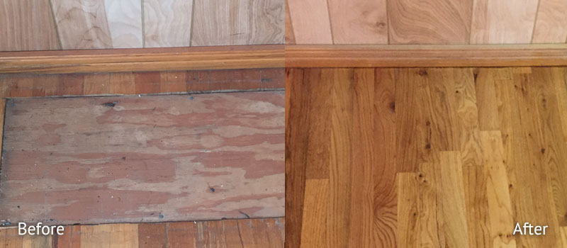 Hardwood Repair and Removal