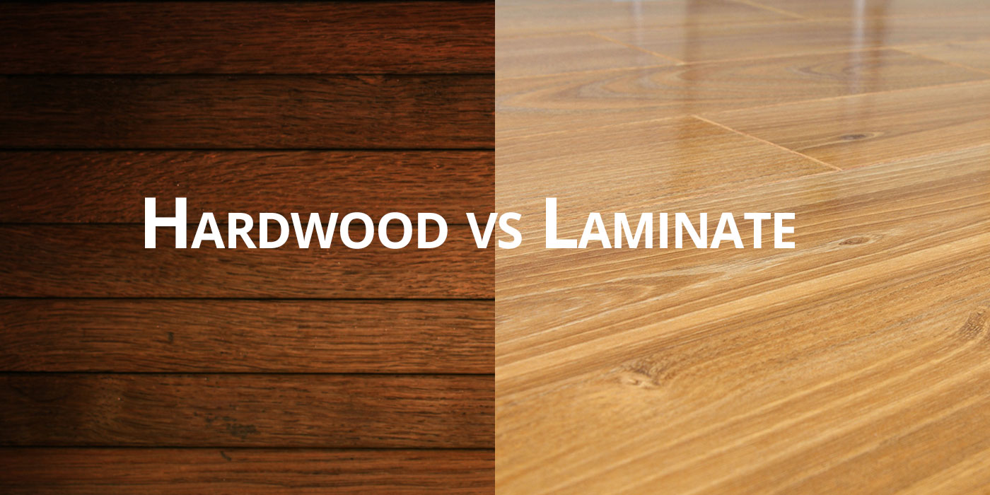 Real Hardwood Floors Vs Laminate Hardwood vs Laminate Flooring