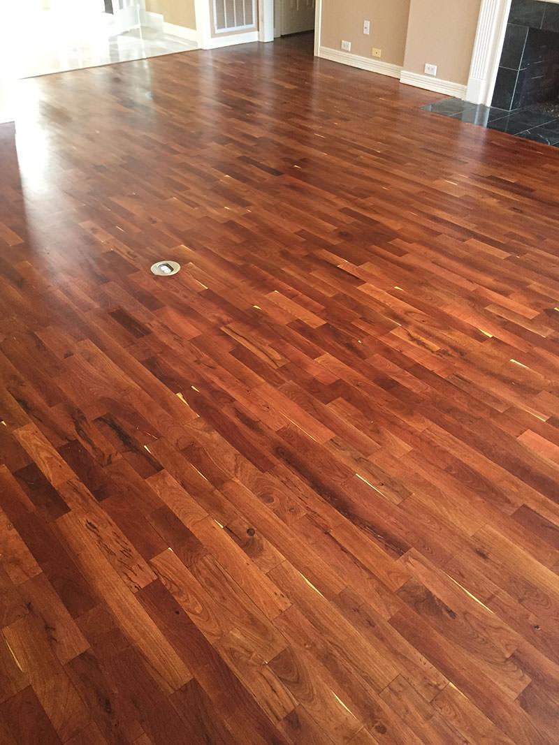 Refinish Mesquite Hardwoods