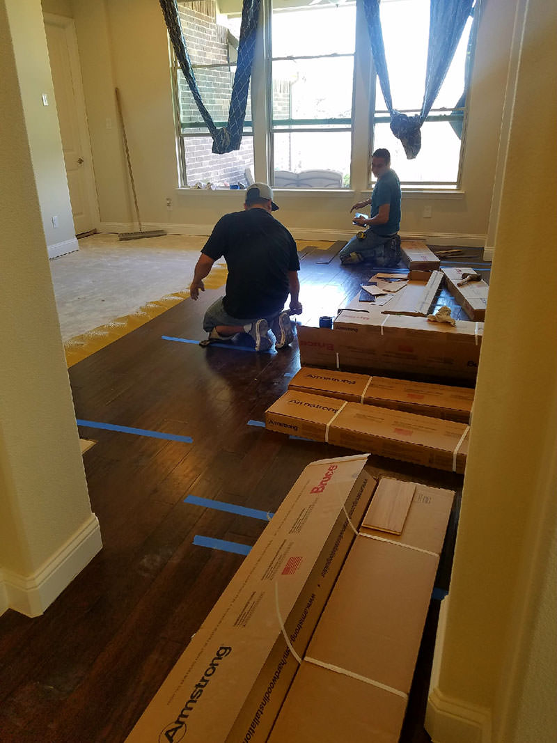 Armstrong Engineered Flooring Installation
