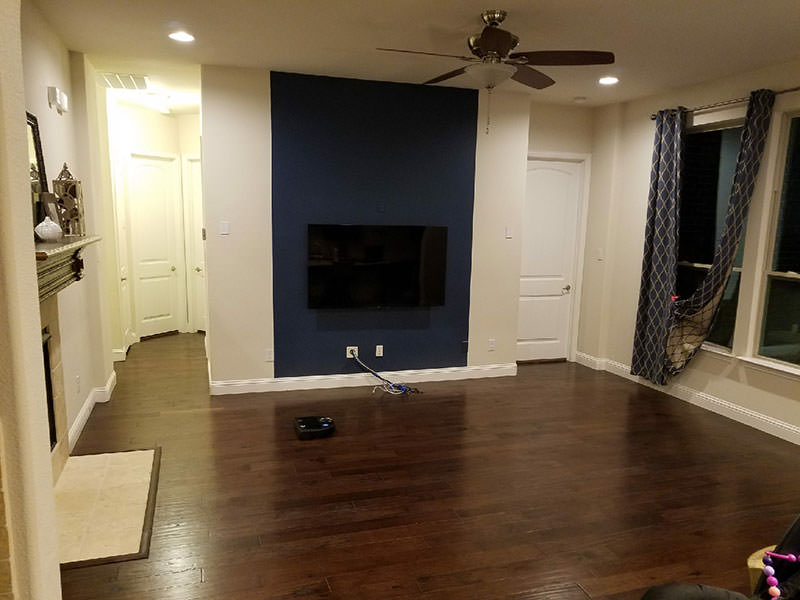 Finished Engineered Hardwood Flooring Installation