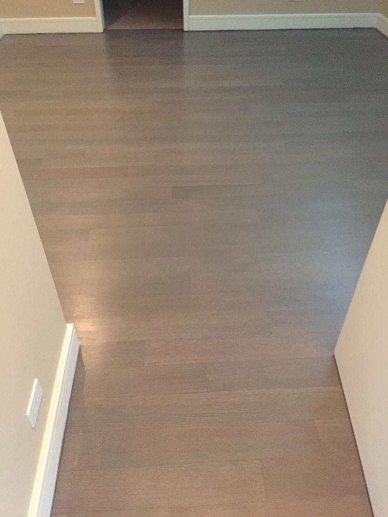 Hallway - Hardwood Refinish