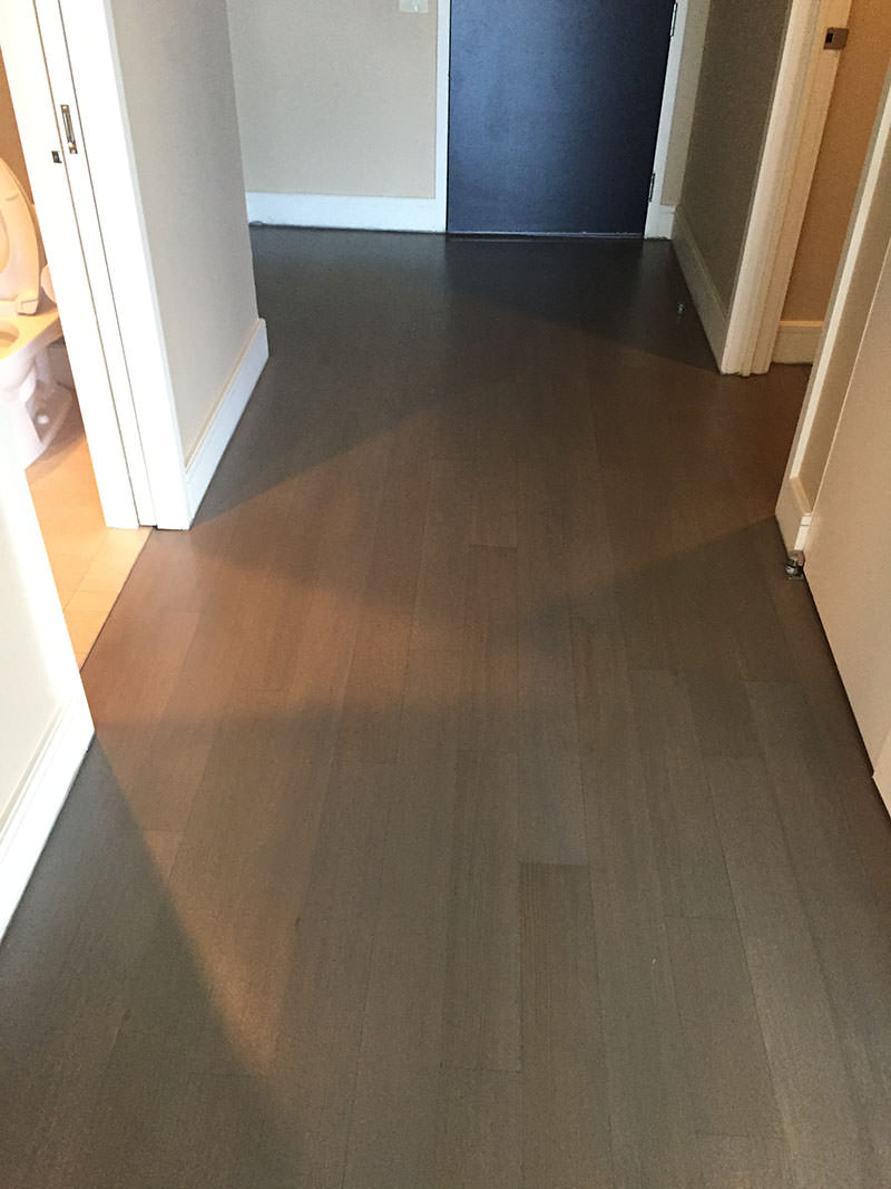 Hallway - Dallas Hardwood Refinish
