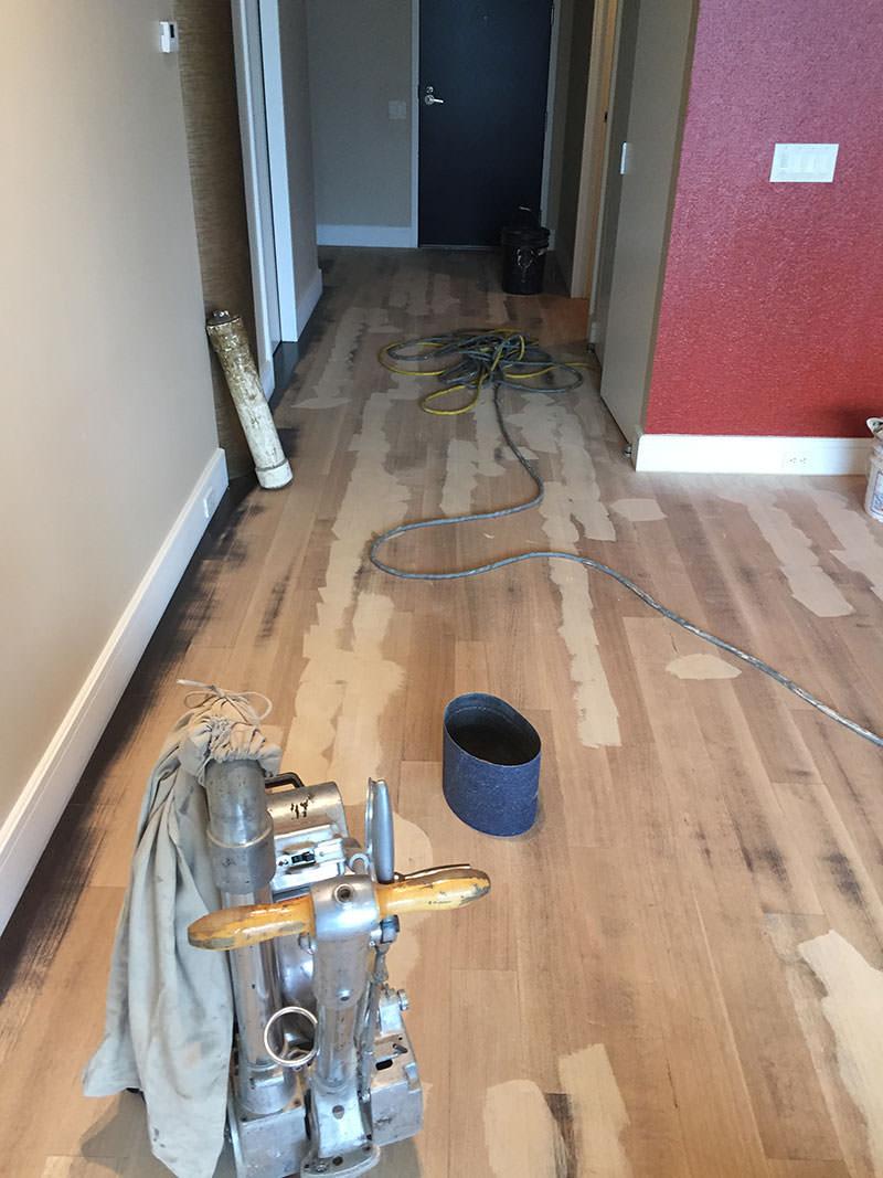 Sand Hardwood Floors