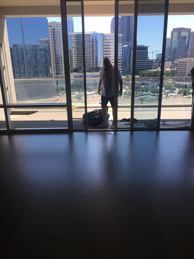 Dallas W Hotel Hardwood Refinishing